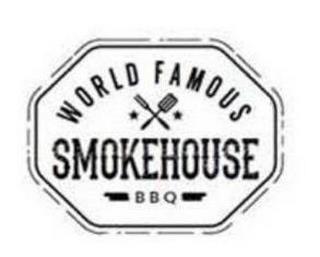 WORLD FAMOUS SMOKEHOUSE B B Q trademark
