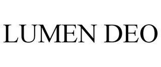 LUMEN DEO trademark