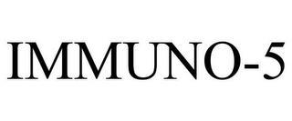 IMMUNO-5 trademark