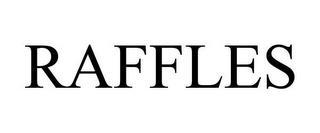 RAFFLES trademark