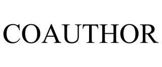 COAUTHOR trademark