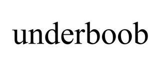UNDERBOOB trademark