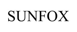 SUNFOX trademark