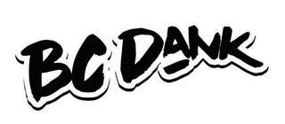 BC DANK trademark