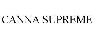 CANNA SUPREME trademark