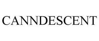 CANNDESCENT trademark