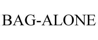 BAG-ALONE trademark
