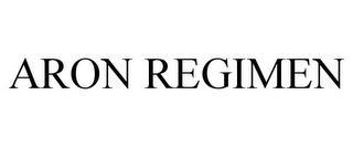 ARON REGIMEN trademark