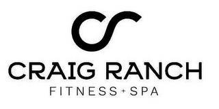 CR CRAIG RANCH FITNESS + SPA trademark