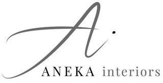 AI ANEKA INTERIORS trademark