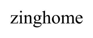 ZINGHOME trademark