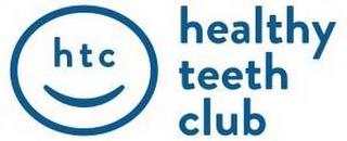 HTC HEALTHY TEETH CLUB trademark