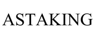 ASTAKING trademark