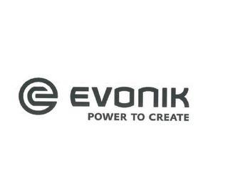 E EVONIK POWER TO CREATE trademark