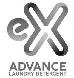 EX ADVANCE LAUNDRY DETERGENT trademark