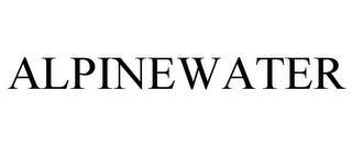 ALPINEWATER trademark