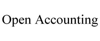 OPEN ACCOUNTING trademark