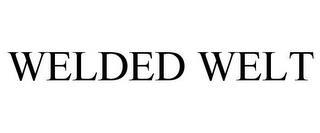 WELDED WELT trademark
