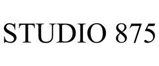 STUDIO 875 trademark