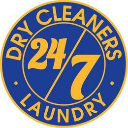 DRY CLEANERS, 24, 7, LAUNDRY trademark