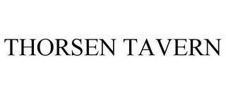 THORSEN TAVERN trademark