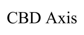 CBD AXIS trademark