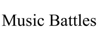 MUSIC BATTLES trademark