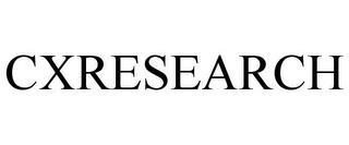 CXRESEARCH trademark