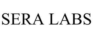 SERA LABS trademark