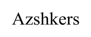 AZSHKERS trademark