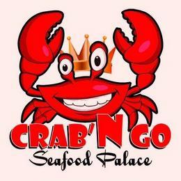 CRAB 'N GO SEAFOOD PALACE trademark