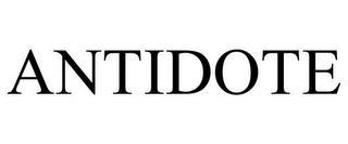 ANTIDOTE trademark