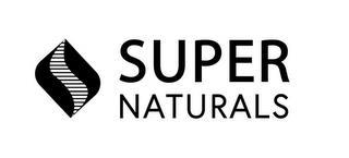 SUPER NATURALS trademark