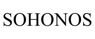SOHONOS trademark