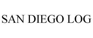 SAN DIEGO LOG trademark