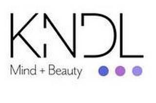KNDL MIND + BEAUTY trademark