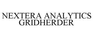 NEXTERA ANALYTICS GRIDHERDER trademark