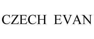 CZECH EVAN trademark