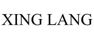 XING LANG trademark