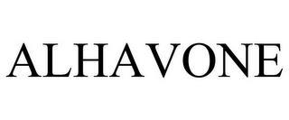 ALHAVONE trademark