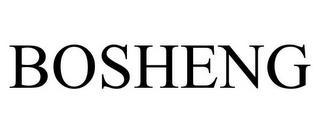BOSHENG trademark