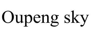 OUPENG SKY trademark