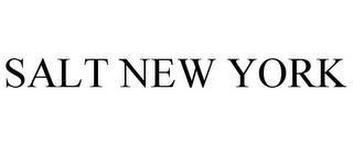 SALT NEW YORK trademark
