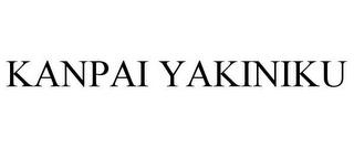 KANPAI YAKINIKU trademark