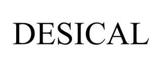 DESICAL trademark