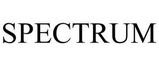 SPECTRUM trademark