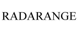 RADARANGE trademark