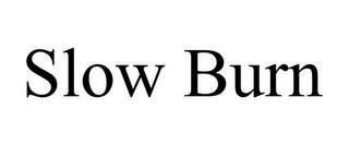 SLOW BURN trademark