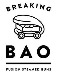 BREAKING BAO FUSION STEAMED BUNS trademark