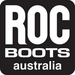 ROC BOOTS AUSTRALIA trademark
